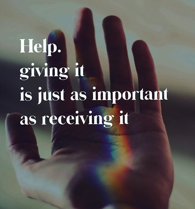 "Why is it that asking for help can feel like such a challenge?  Because it means ""being vulnerable"" or that ""you have something that I don't""? What if you embraced help as much as you gave it?  What if you threw your arms open, instead of closed... what gifts would you be able to receive?  #selfcare #selflove #alittlehelp #alittlelove #quotesaboutlife #helpisagoodthing #selfheal"