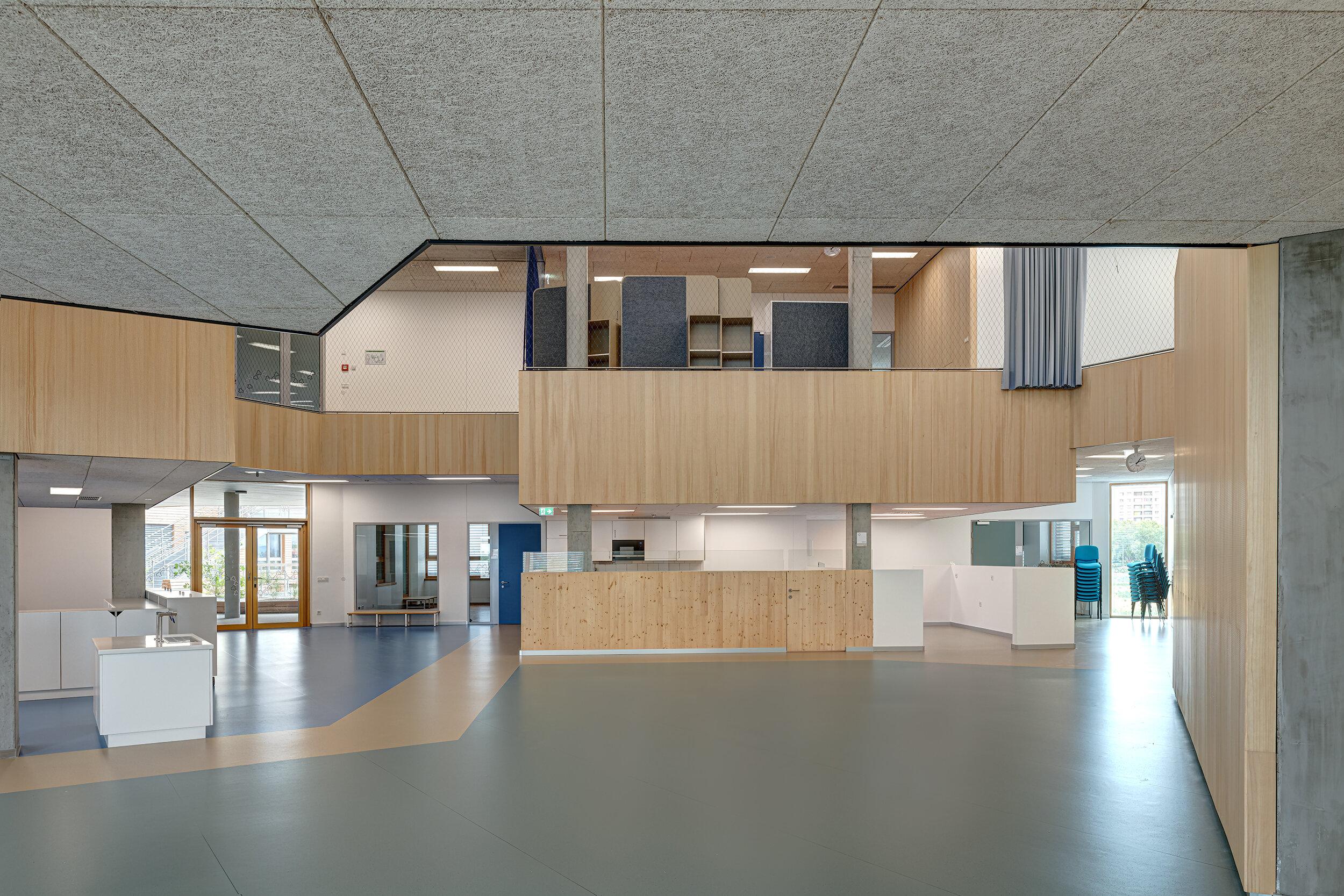 Schubert Photography-Bildungscampus Berresgasse-PSLA ARCHITEKTEN-Akustik Komponenten-Atmos Akustik