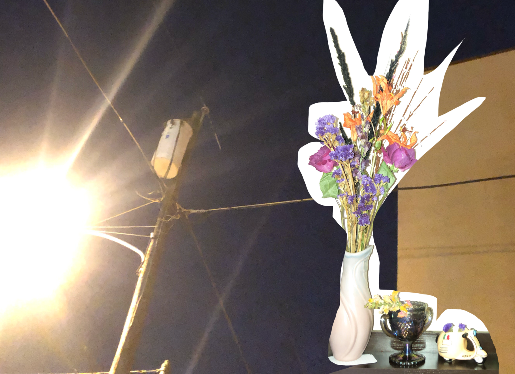 street lights and flowers.png