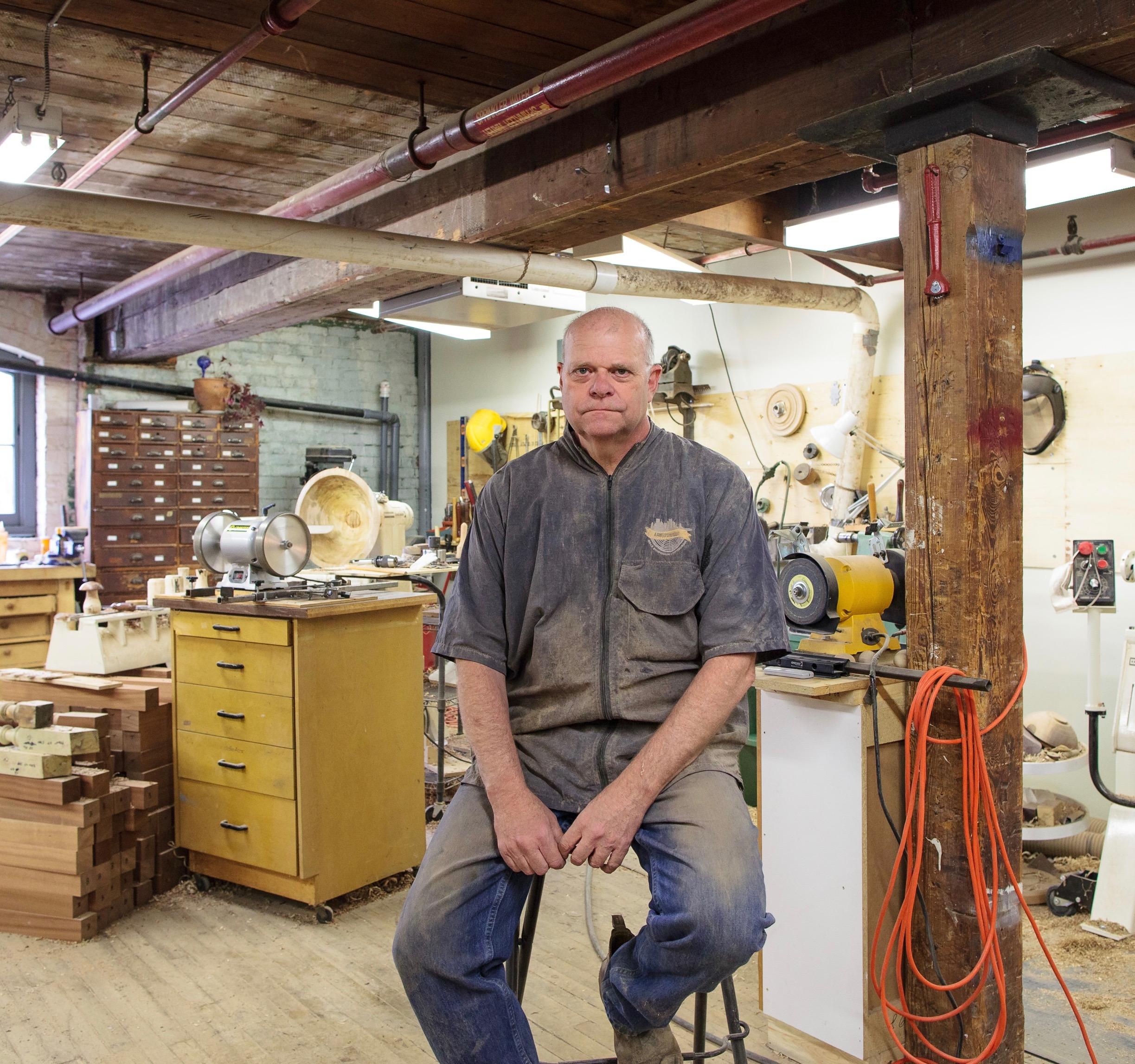 Hugh E. Widdup - Woodturning