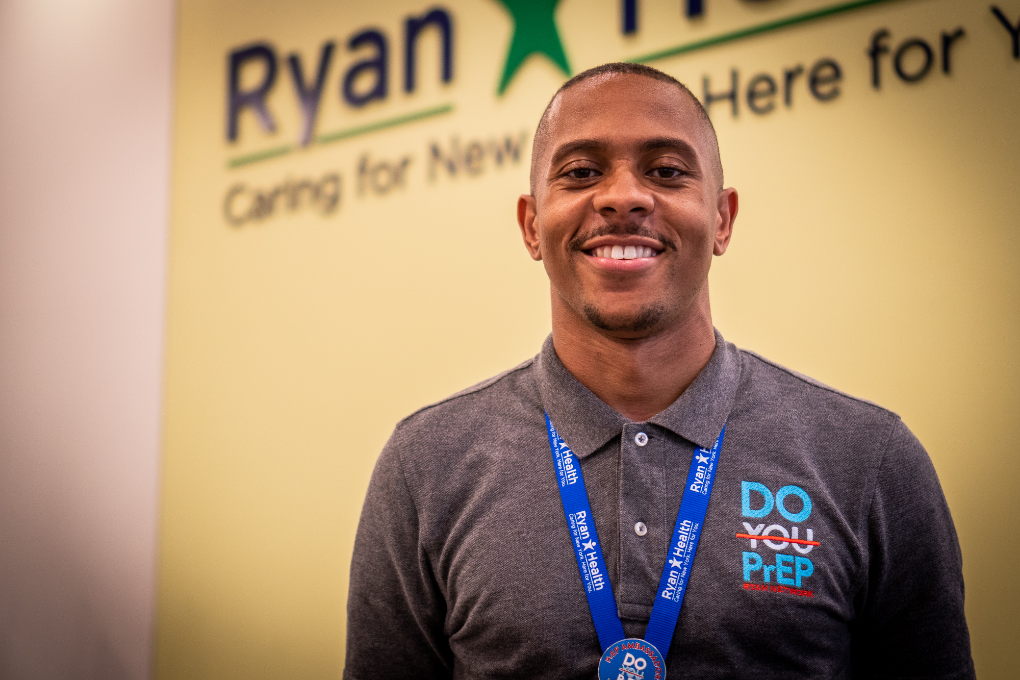 Victor Hogue of Ryan Health has worked with PrEP since before it was approved by the FDA and still does outreach to get people to realize its benefits.