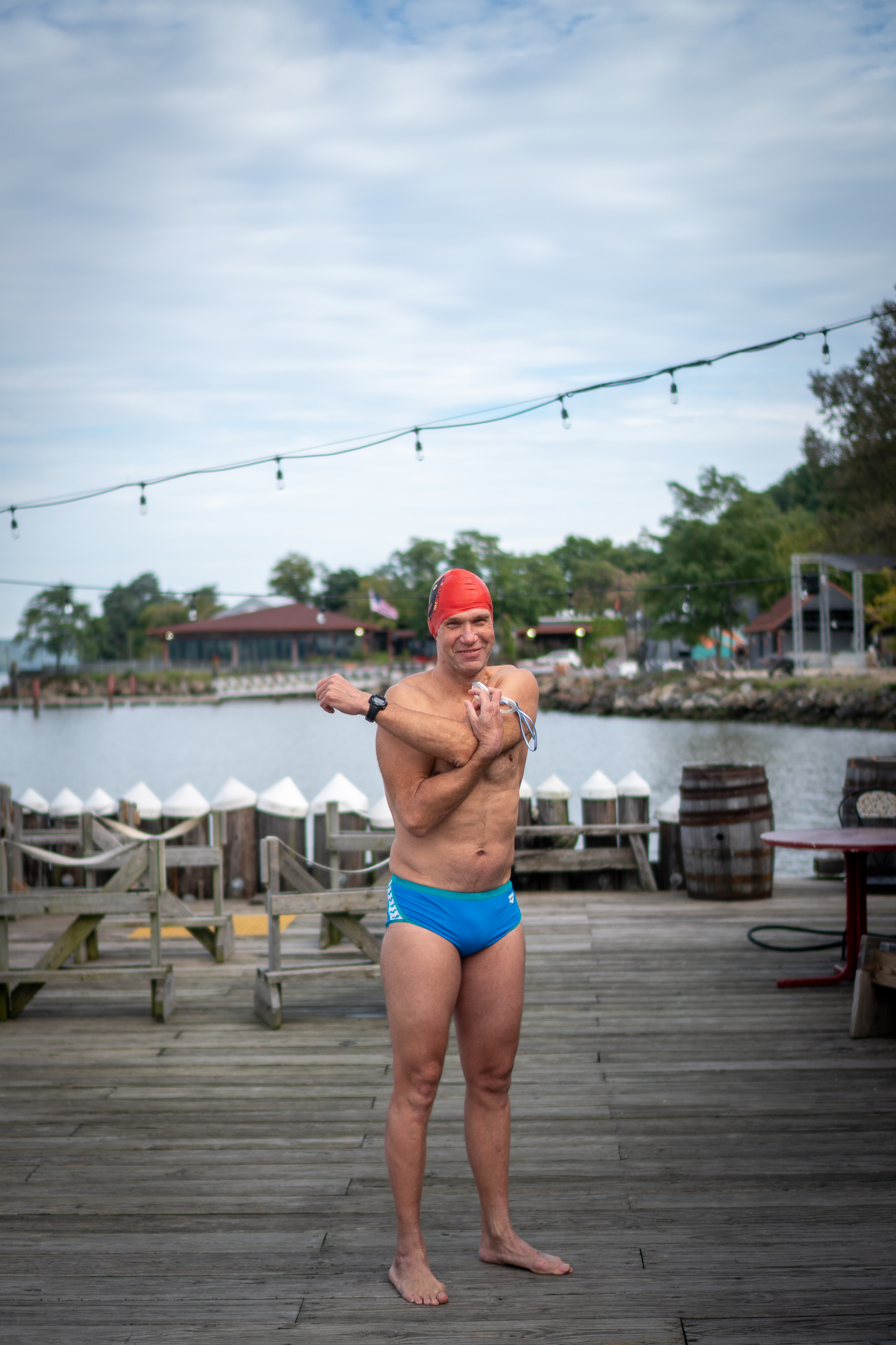 Sebastian Moll is a lifetime swimmer who has commited more to open water swimming in recent years.