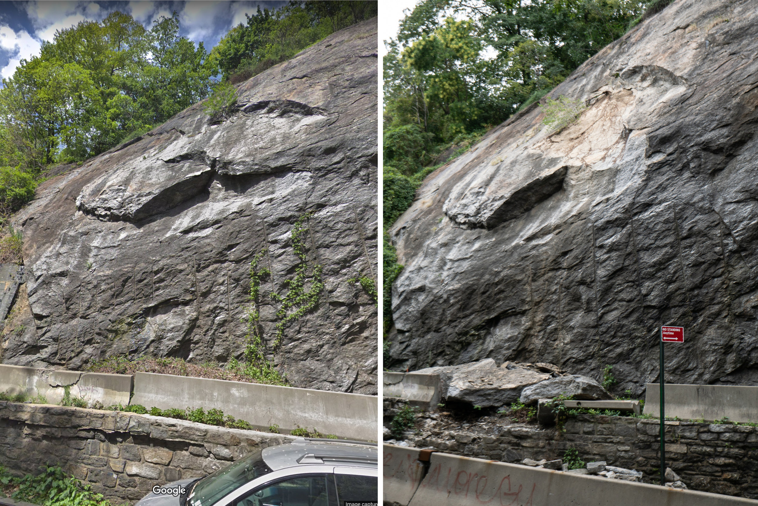 Before and after (left photo fron Google Maps Streetview).