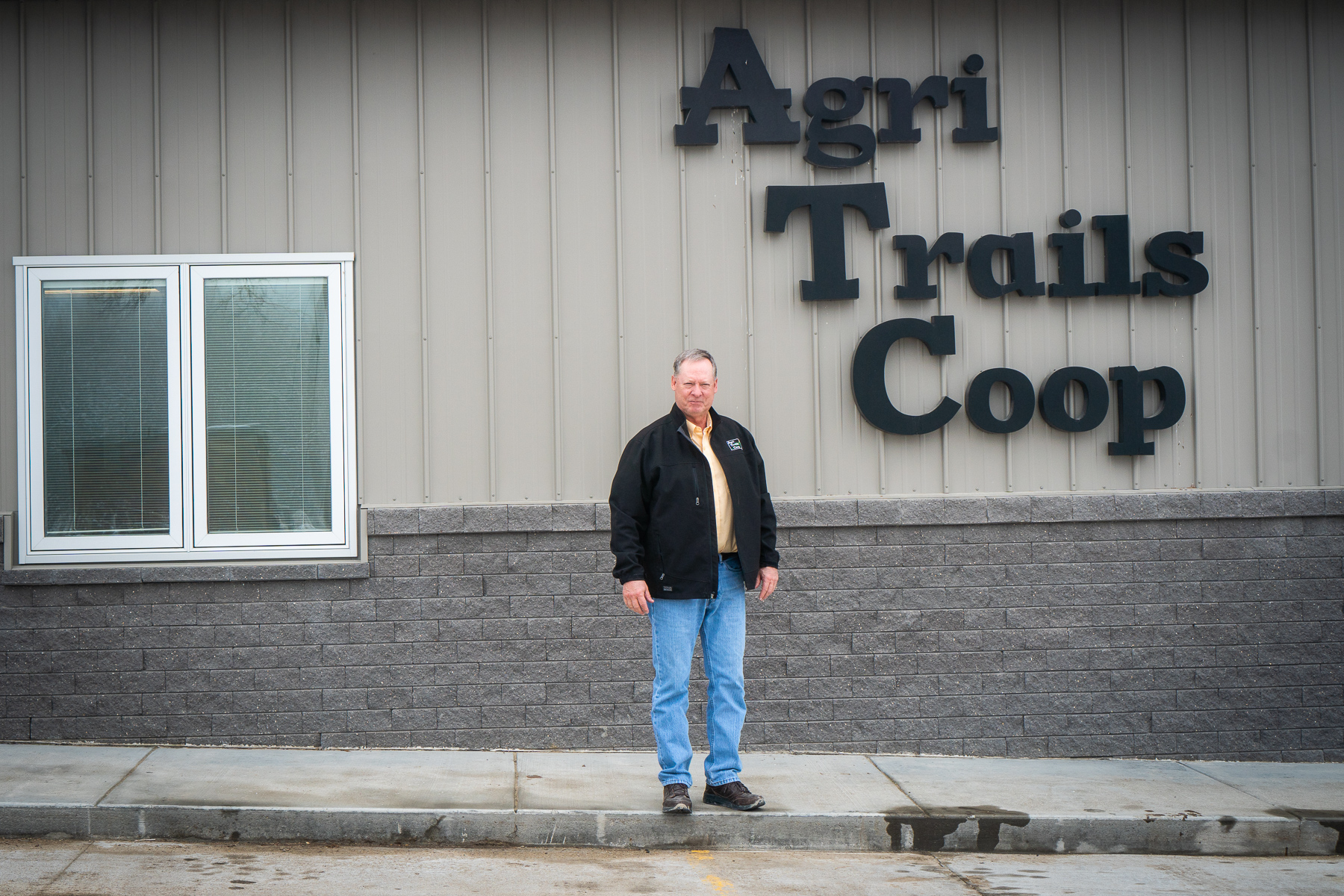 Darel Anderson, general manager at Agri Trails Coop in Hope, Kansas on January 15, 2019. He worked closely with Lucas Hicks and said that not a single day passes not thinking about the two young men that died in August last year.