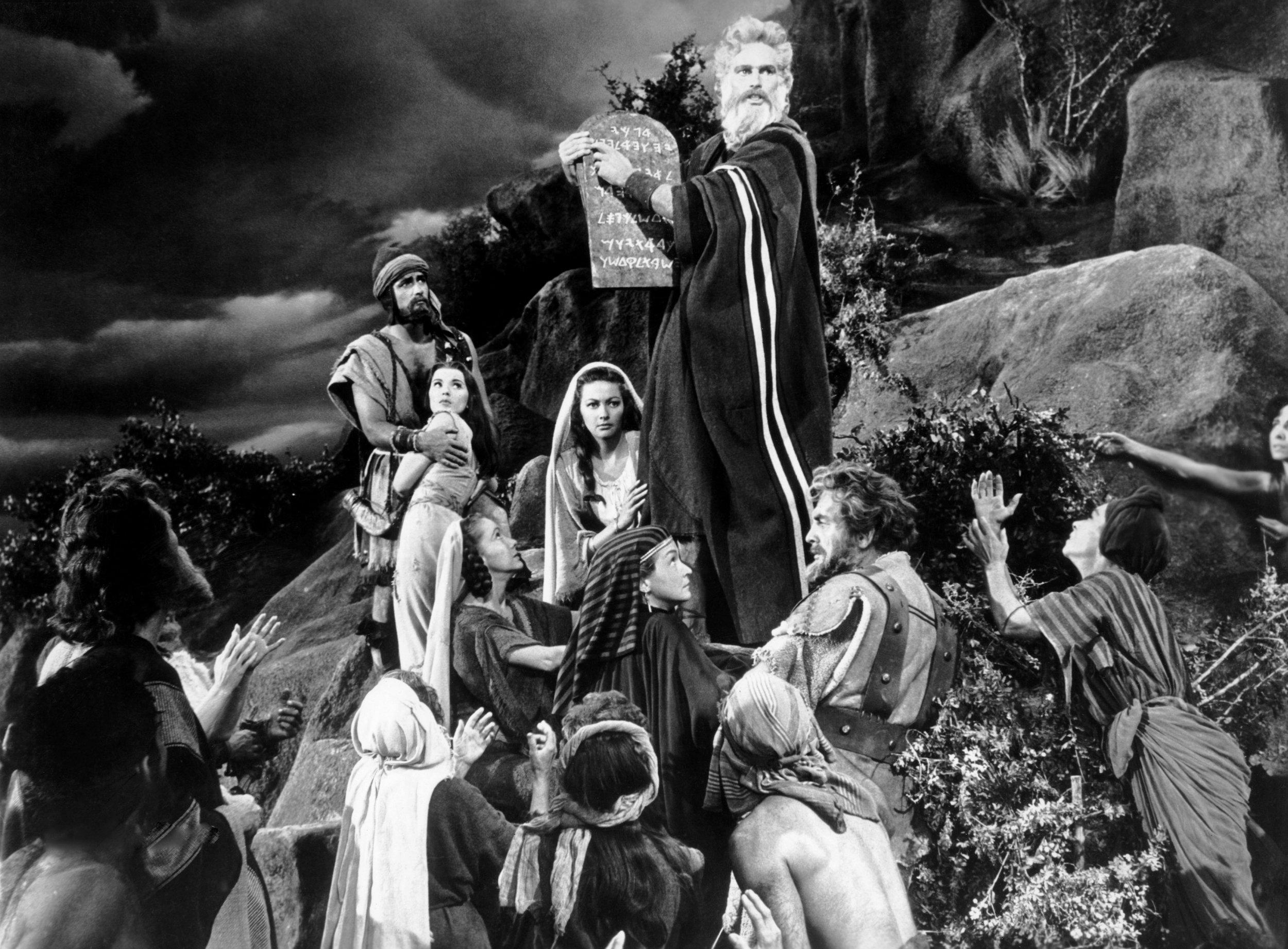 Heston from 10 Commandments