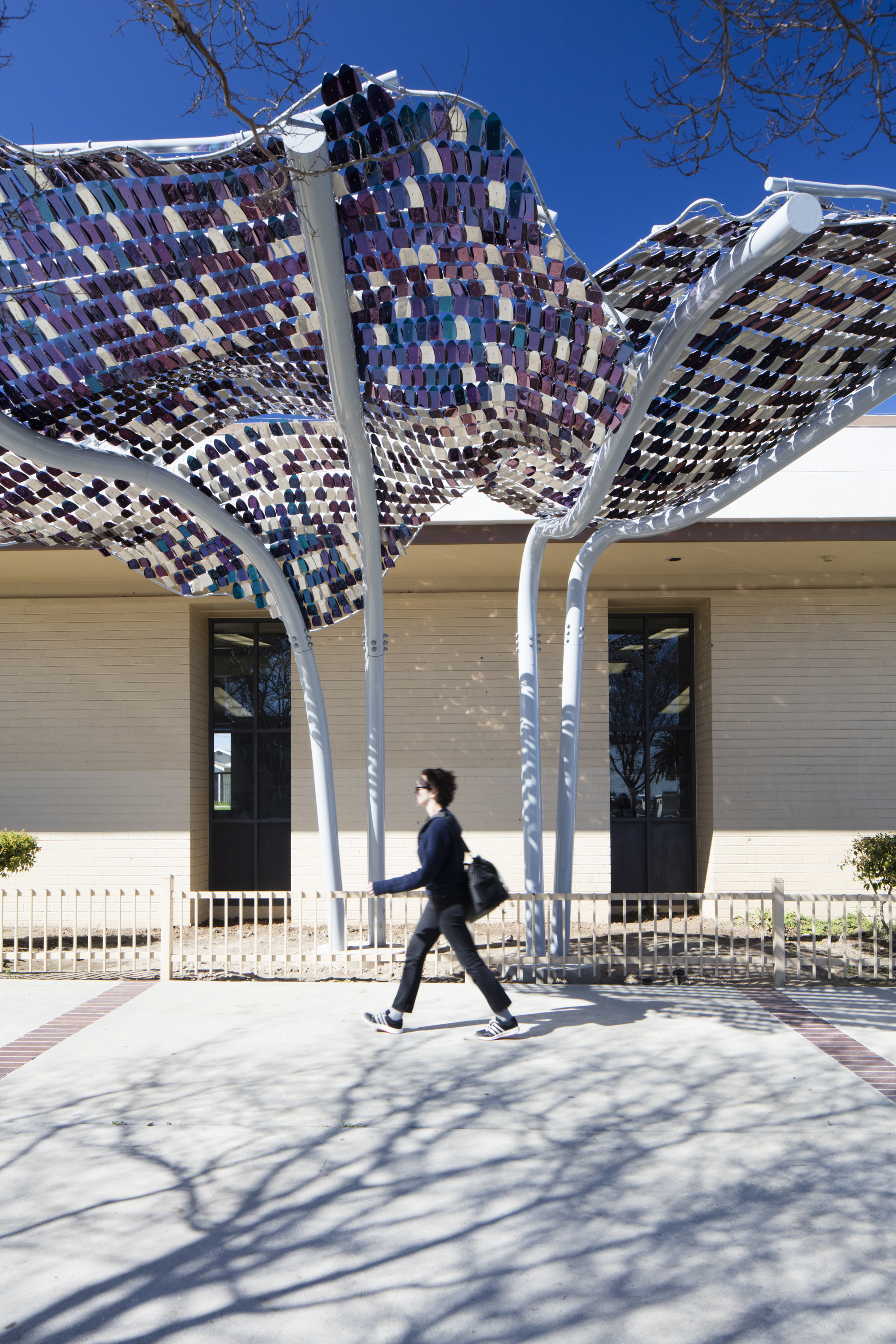 Woodcrest Library Canopy