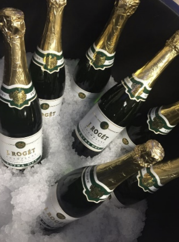J Roget Brut Extra Dry2 bottles for $10 plus tax1 bottle $6.99 plus tax -