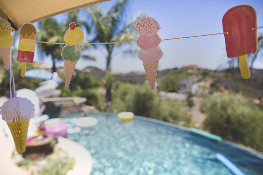 Lexi's 6th Birthday - An Ice Cream and Moana Party, Malibu