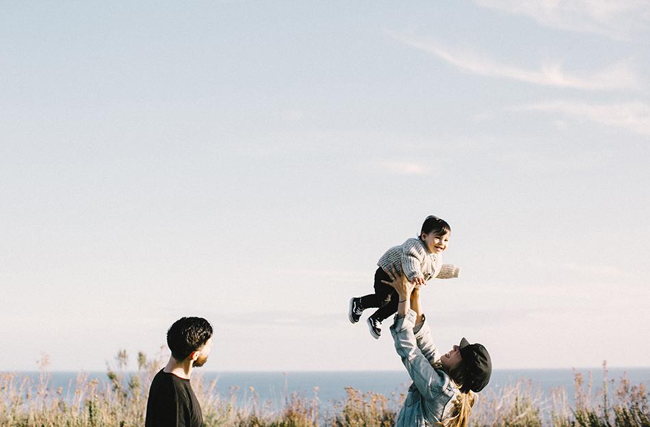 Family portrait session - Palos Verdes, CA