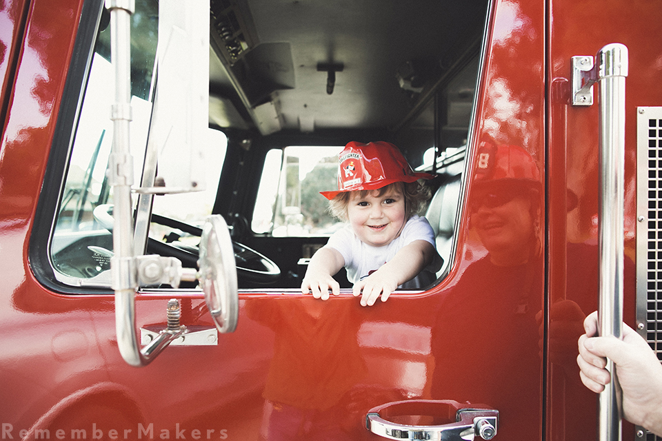 fire truck party pacific palisades kids party photographer