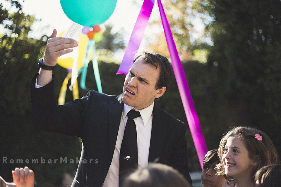 secret agent celebration entertainment