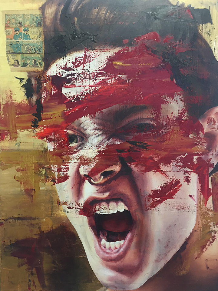Self Portrait - Red