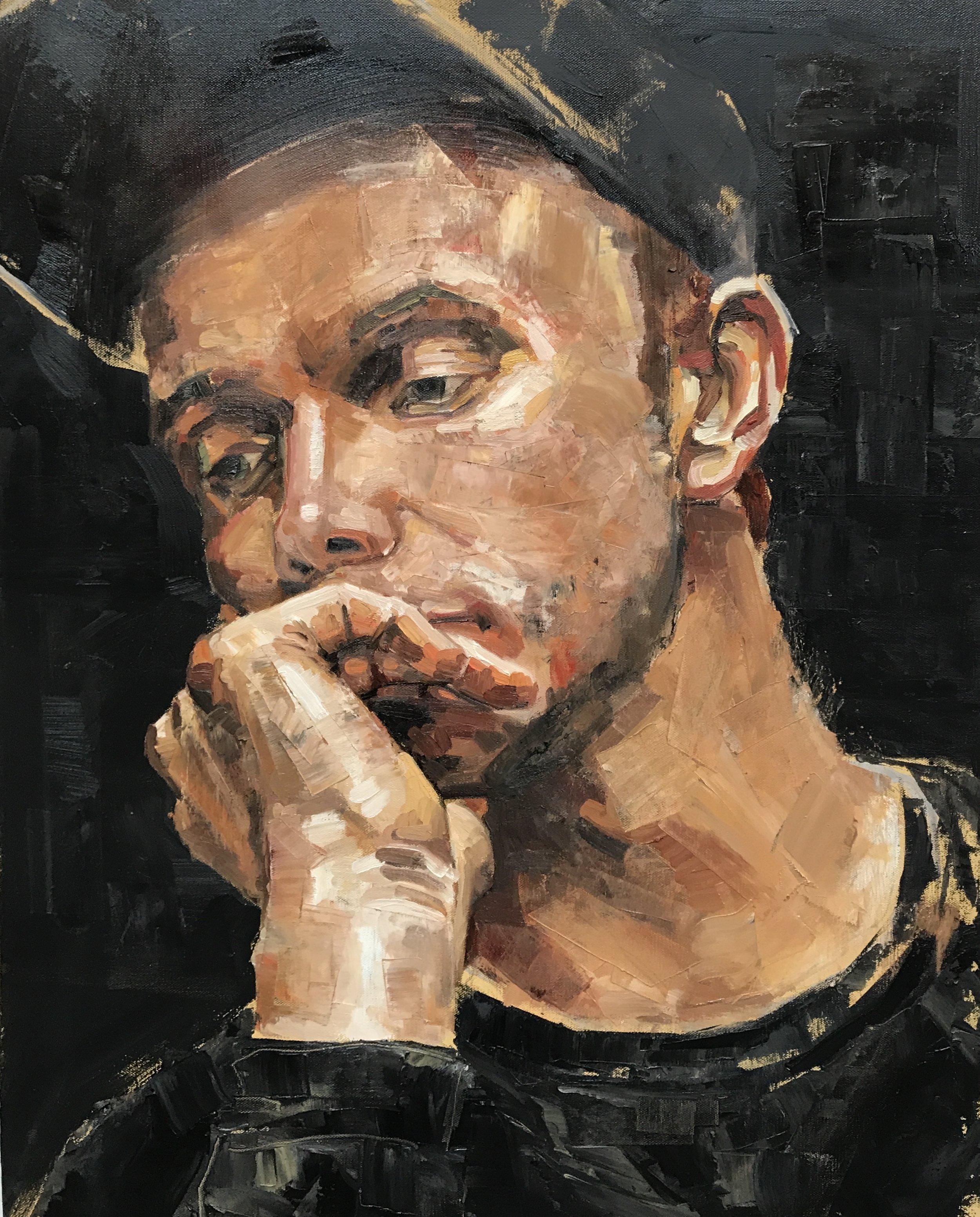 Self Portrait - Black