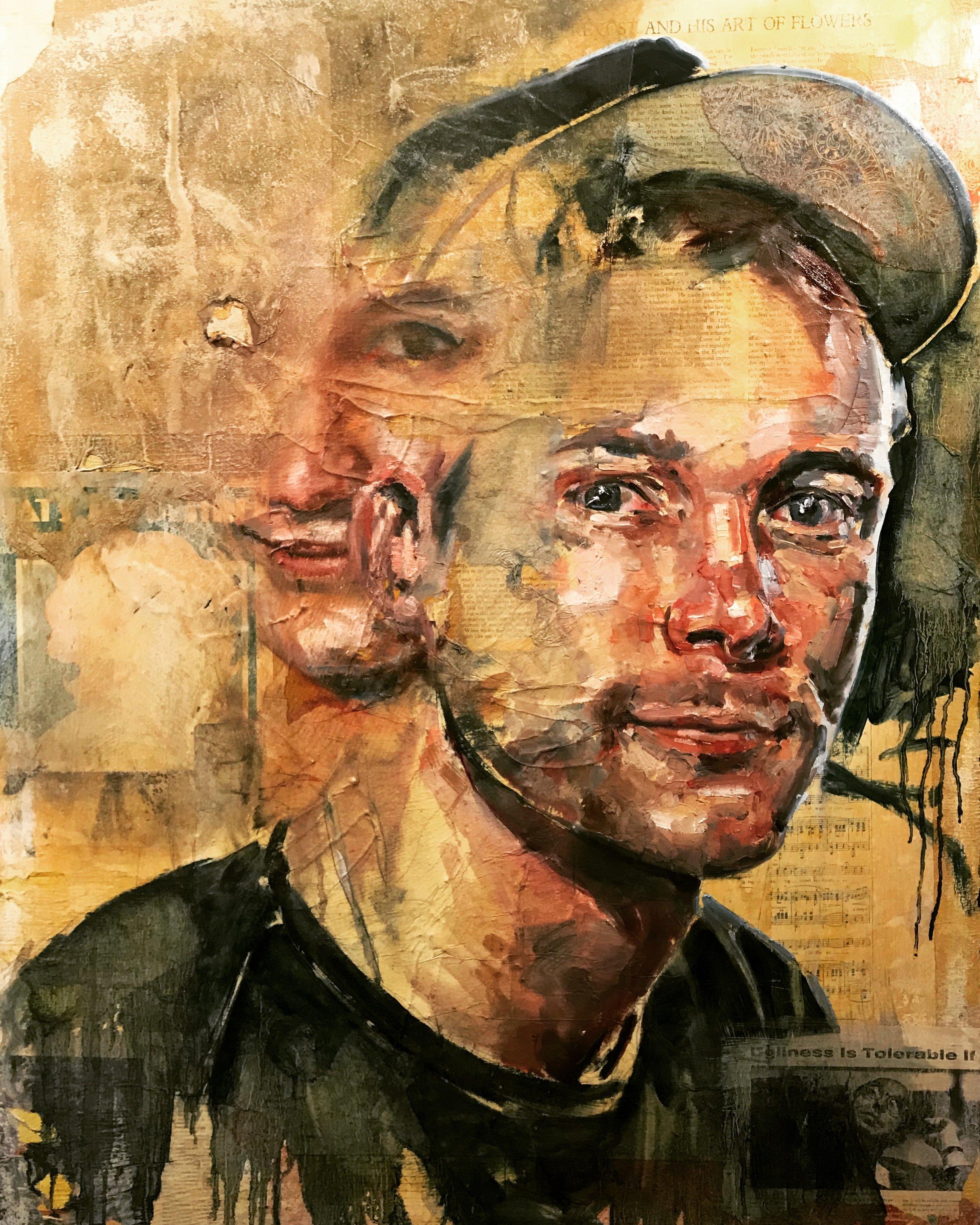 Self Portrait - Yellow