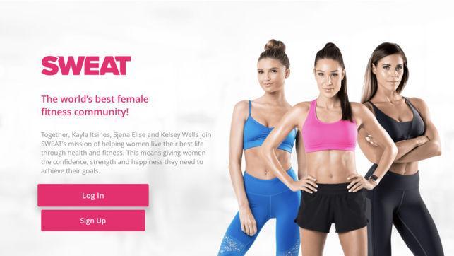 Workout App: Sweat by Kayla -