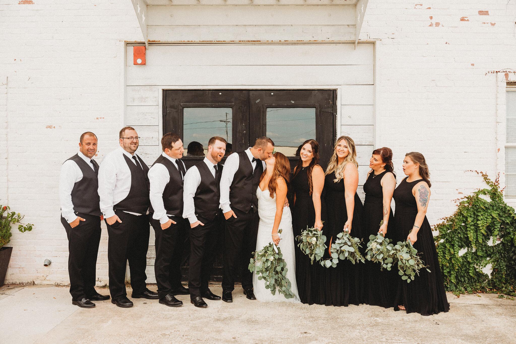 Fairlane Station Springdale Arkansas Wedding