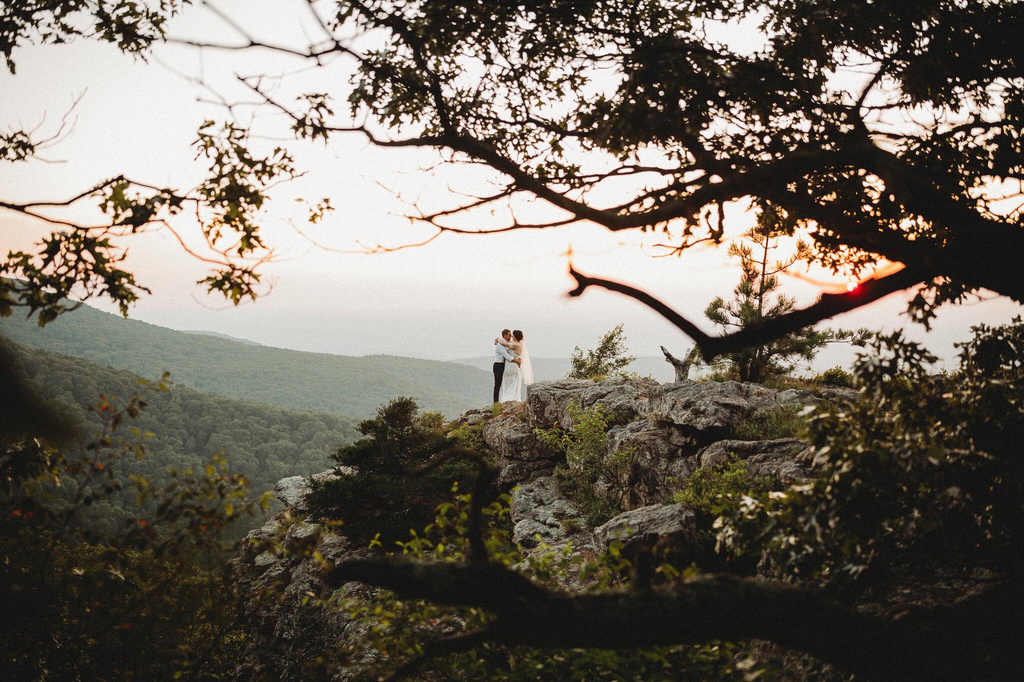 mount magazine state park wedding arkansas