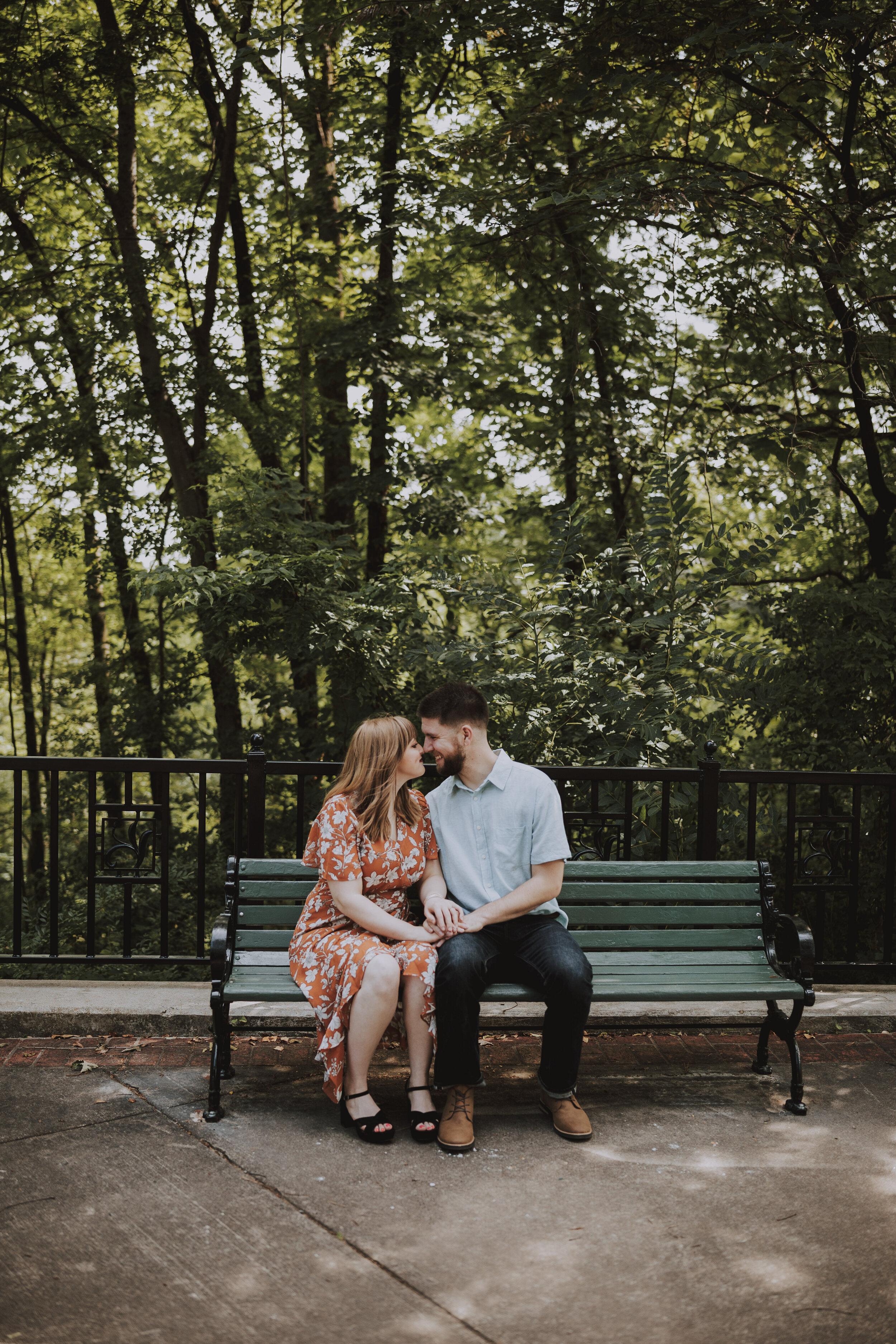 best engagement photo spots in Arkansas