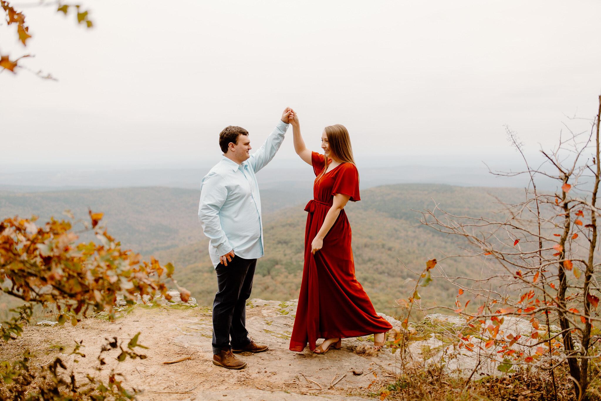 white rock engagement photos