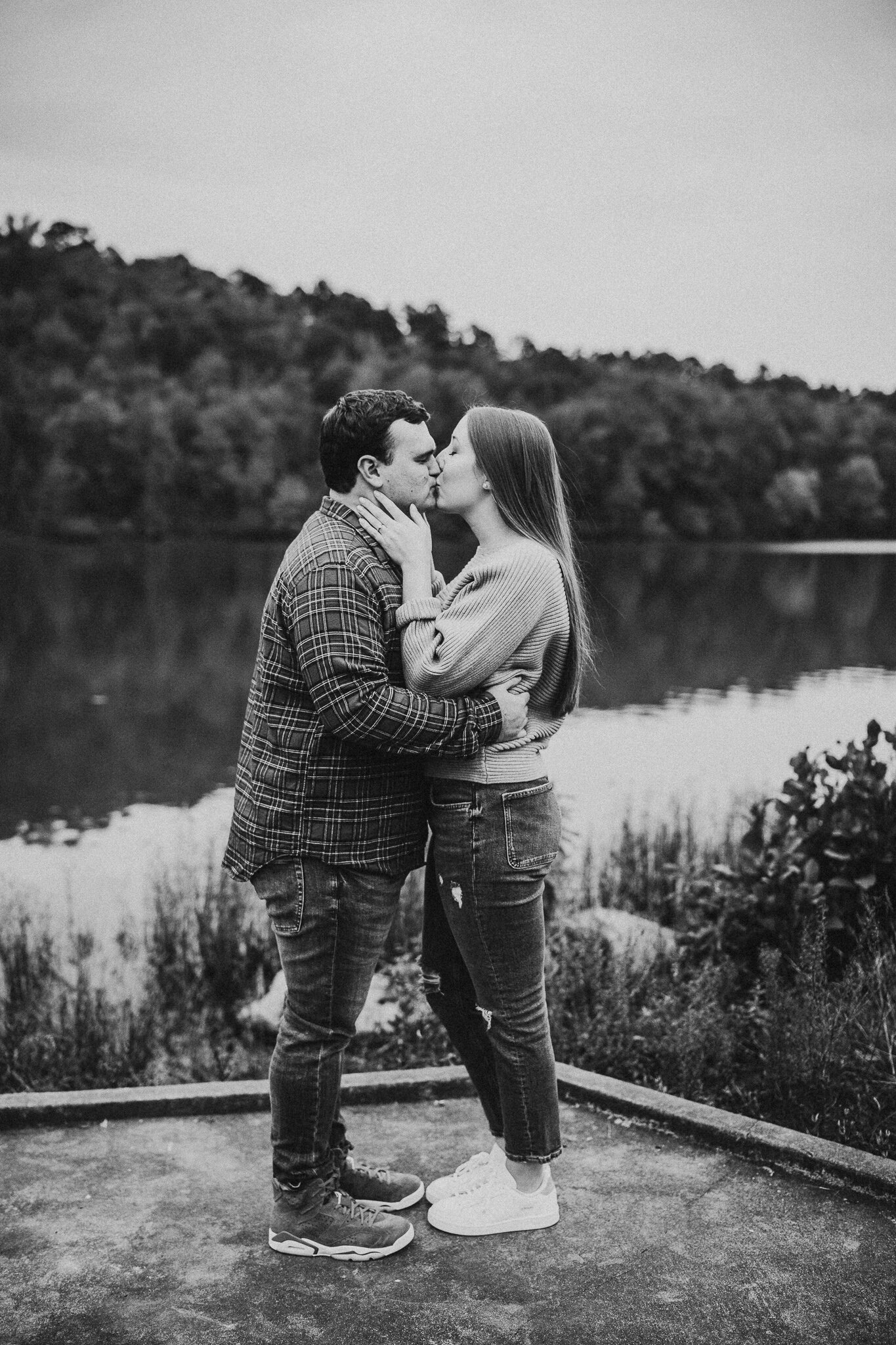 white rock engagement photos