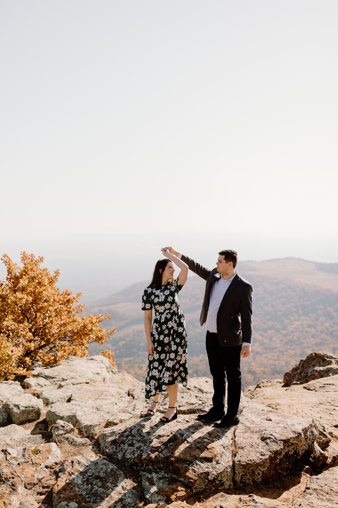 mount nebo engagement photos