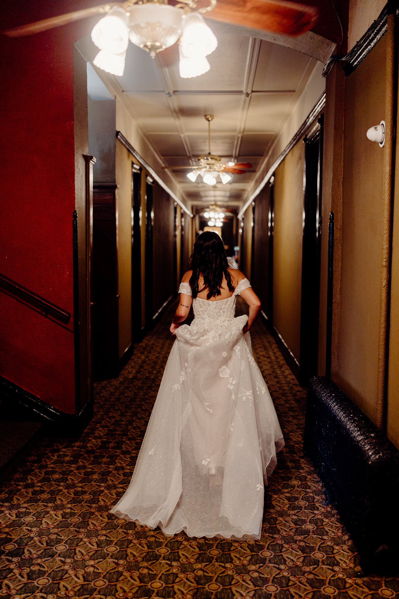 haunted hotel wedding