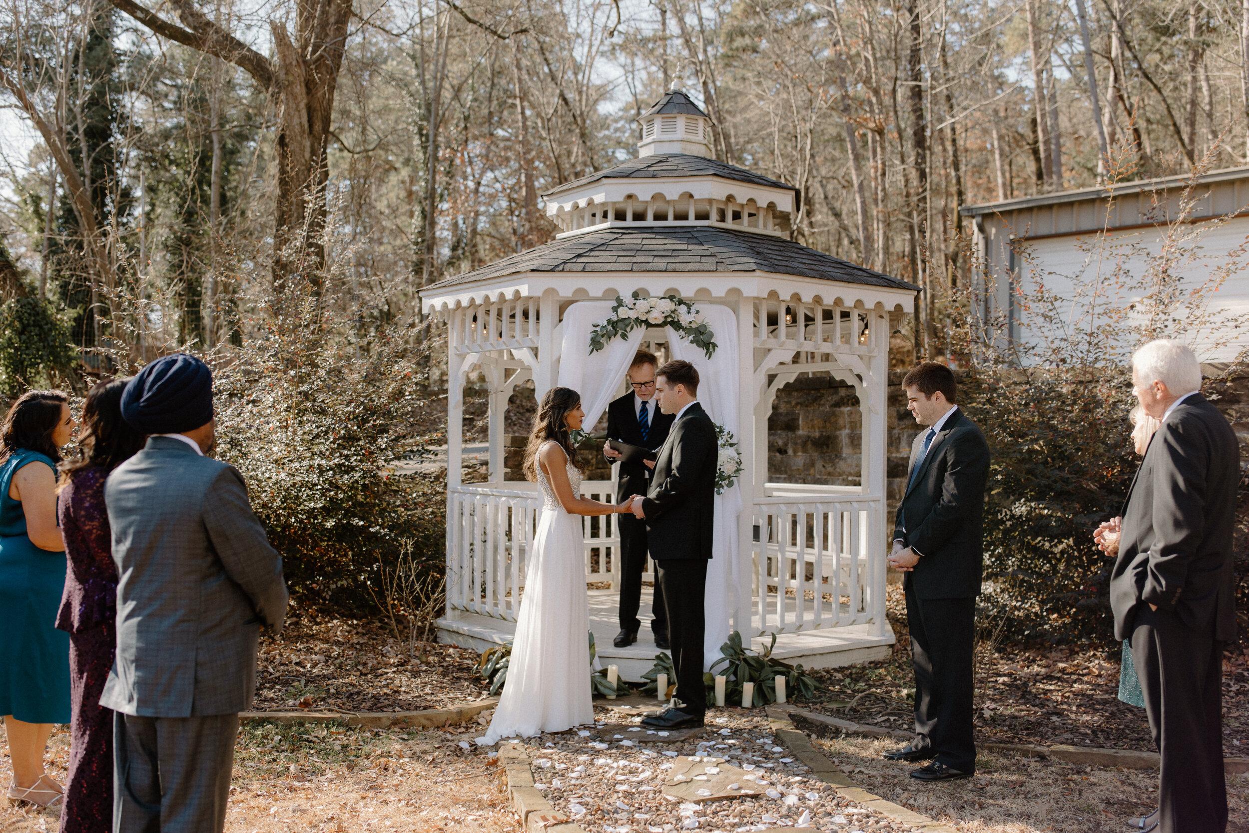 hot springs elopement photographer
