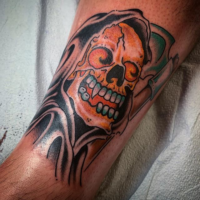 He is Risen. @elmstreettattoo . . . . #tattoos #dallas #dallastexas #elmstreettattoo #tattooflash #dfw #americanatattoos #tattoo #party #fun #goodtimes #dallastattoo #dfwtattoo #traditionaltattoo #colortattoo #blacktattoo #bright_and_bold #sailorjerry #classictattoo #tradtattoo #americantraditional #realtattoos #oldlines #elmstreet #deepellum #texas #texastattoo #dynamicblack #solidink #tattoos #vulcanneedles