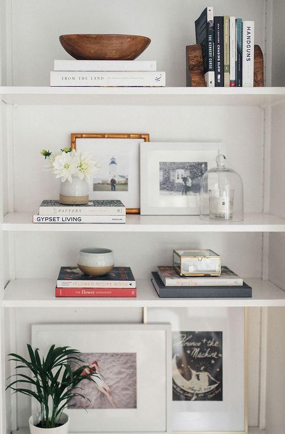 7 Steps: decorate your dream bookshelf -