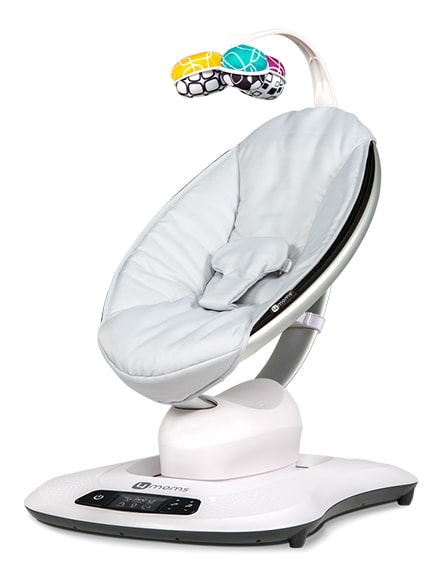 4Moms MamaRoo Infant rocker - This rocker is AMAZING. There are several different types of motions it creates, a few different noises, AND you can turn it on and off from your phone. I know my baby will be spending more than a few naps in this rocker!