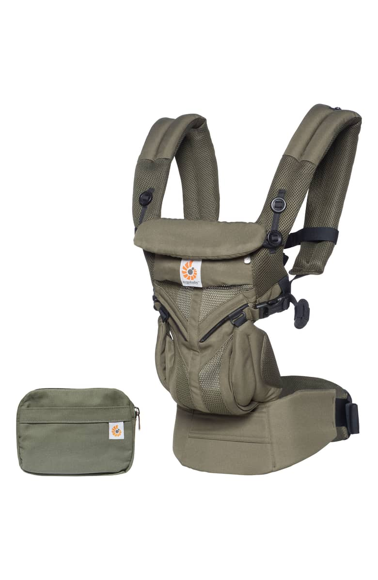 ErgoBaby Carrier - This carrier is so comfortable and you can wear your baby in so many different ways! Plus it has back support for Mom or Dad so its comfortable for you and for baby.