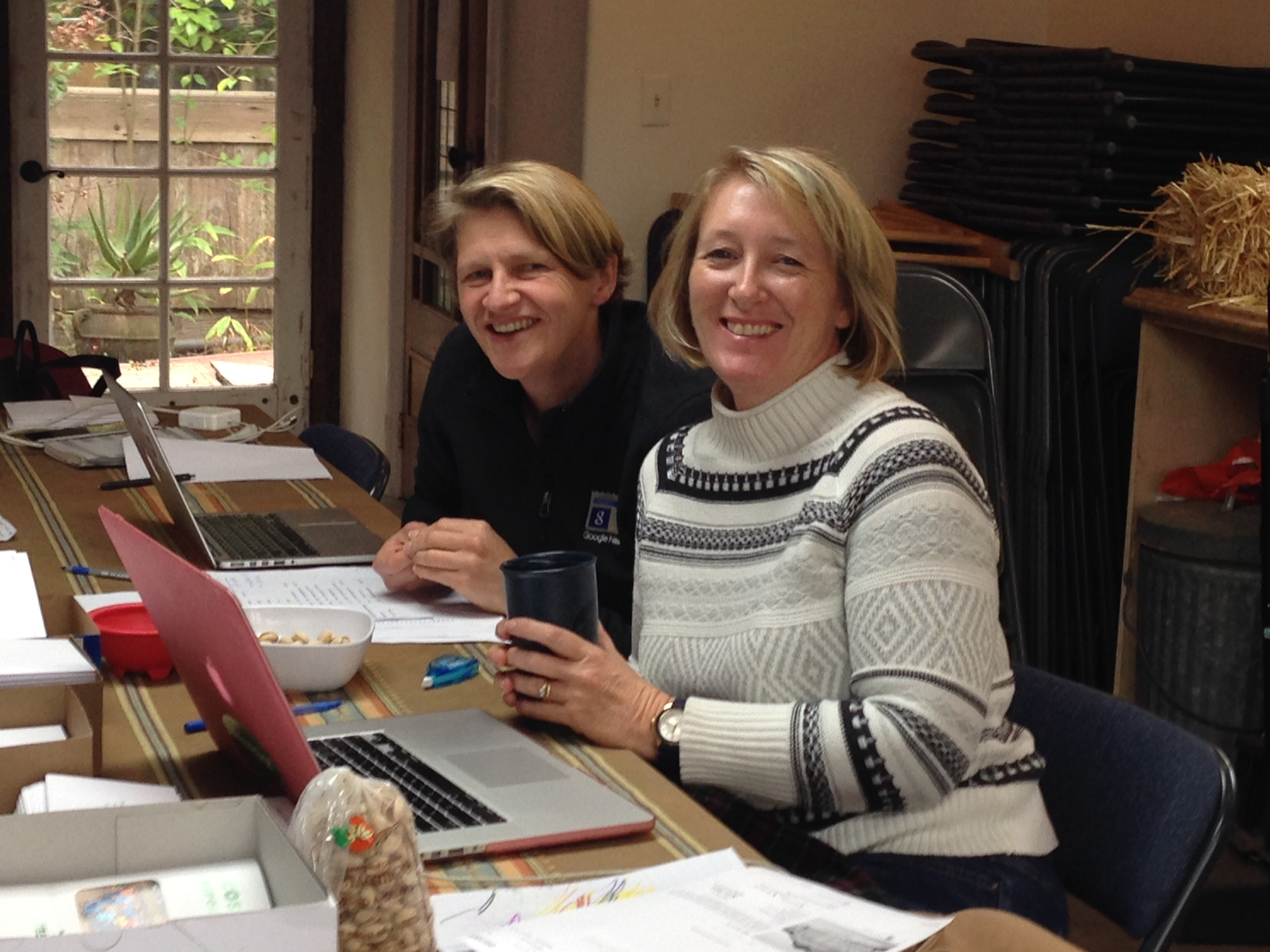Sabine and Fran mailing First Community Report.jpeg