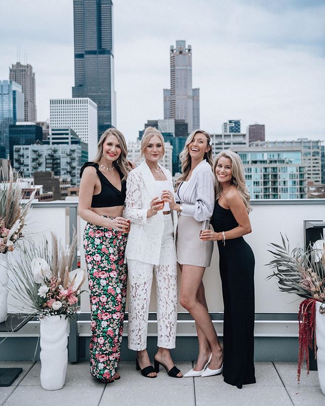 Oh what a night! 🌙 A handful of answered prayers and online connections came to LIFE last night! 🙏🏻 The rain held off just long enough to clink a few glasses on @the_van_buren rooftop 🥂 Then @alialistone @oliviarink and @jennacolgrove brought their charm, entrepreneurial experience and vulnerability to the stage with me for powerful panel discussion 🎙 that we got to enjoy with over 50 joyful women! I could just cry with all sweet feedback 😭 and the chance be reunited with my girls for a few days in the big city! Thanks for coming out everyone 🖤 y'all are what makes these so special and fun to put together! #joyfulgatherings #westoffelicity