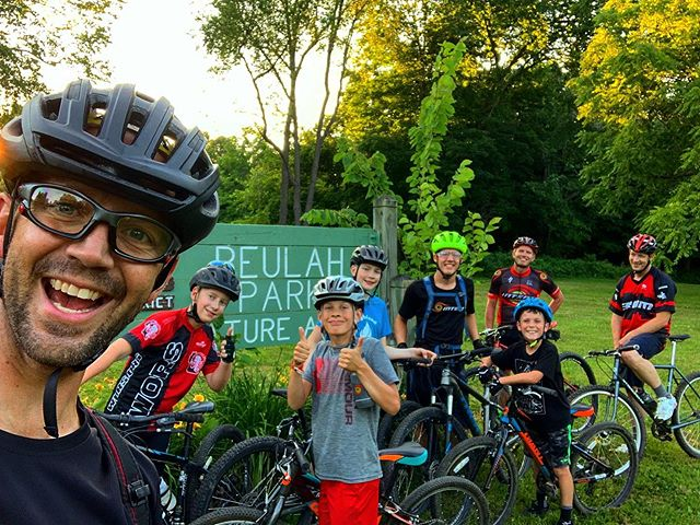Coaches Shad, Josh, and Mike have been doing some INTENT-se things with these super rad mtb kiddos!