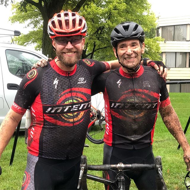 Get dirty with INTENT 😜 Our Chitown CX season opener was a crazy, muddy blast! Thanks to our friends at @x_x_x_racing for the great kickoff race. We will be at every race in our fab @chicrosscup series.  Come on by our team tent for treats and muddy hugs if this rain keeps up! #getcxywithintent #racewithintent #chicrosscup #cyclocrosslife #bikeracing #intentbikeshop #elielcycling #wearespecialized #intentcoaching #racewithintent