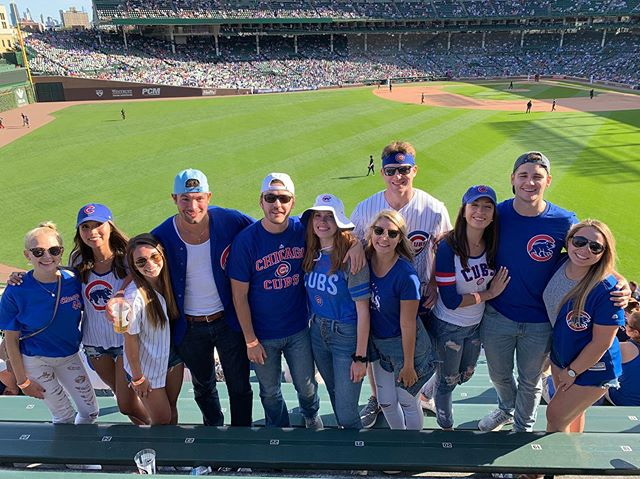 We all had an All-American time this past weekend with Chicago's poster child @robfalbojr - don't screw up Whataburger ⚾️