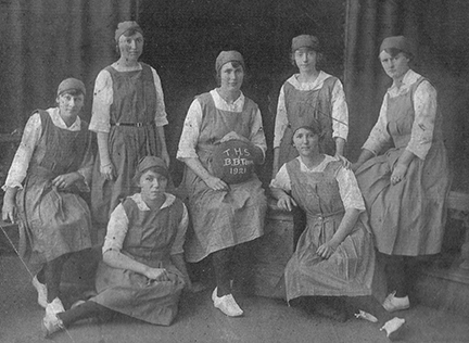 Toowoomba High Basketball Team 1921