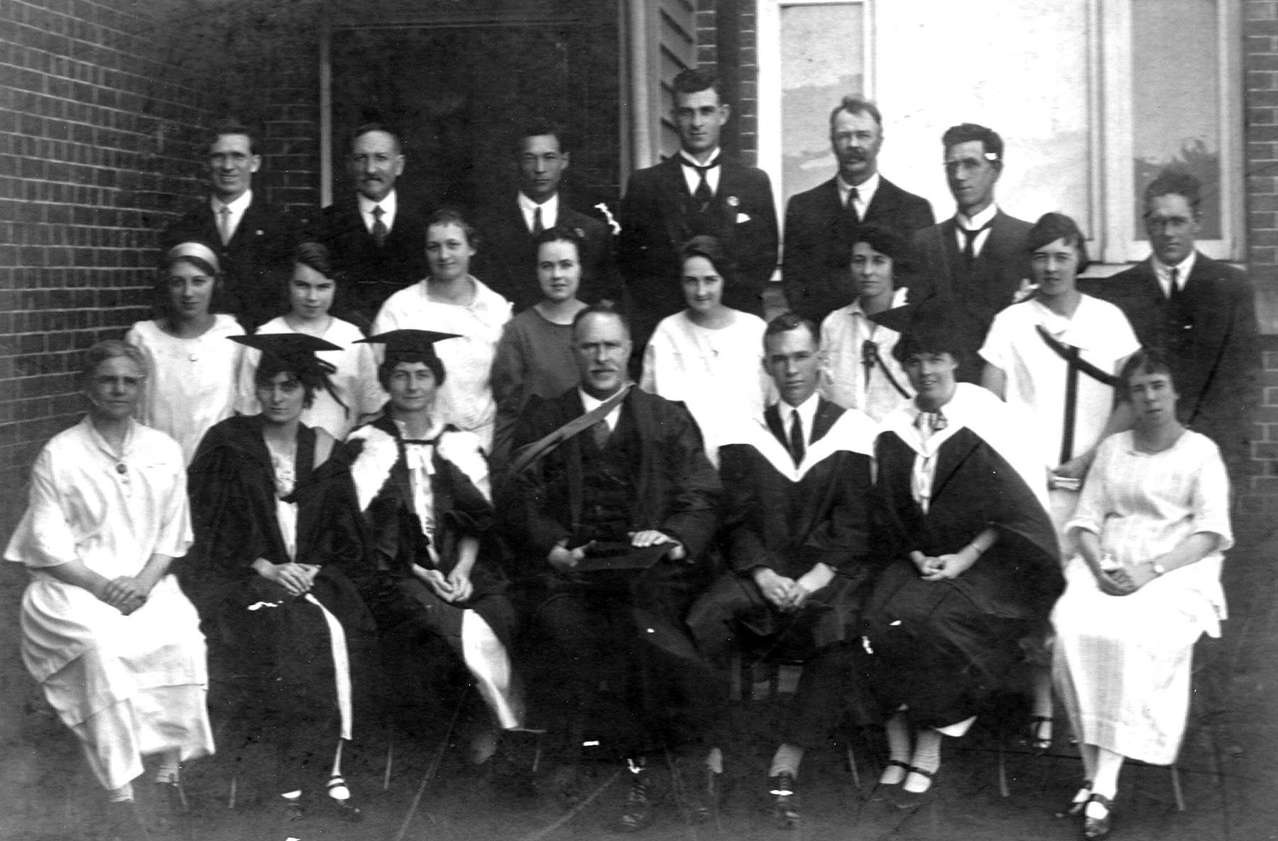 Staff photo 1927