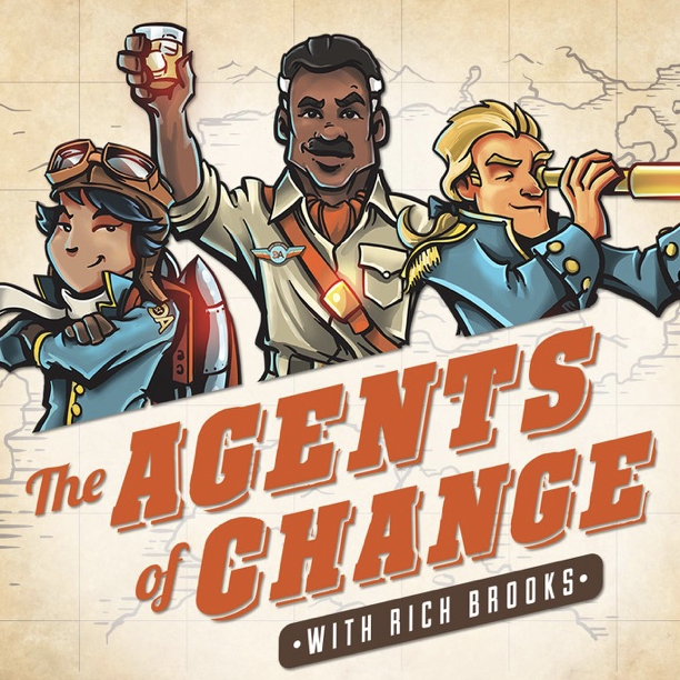 Rich Brooks and I had a delightful conversation on the Agents of Change podcast.
