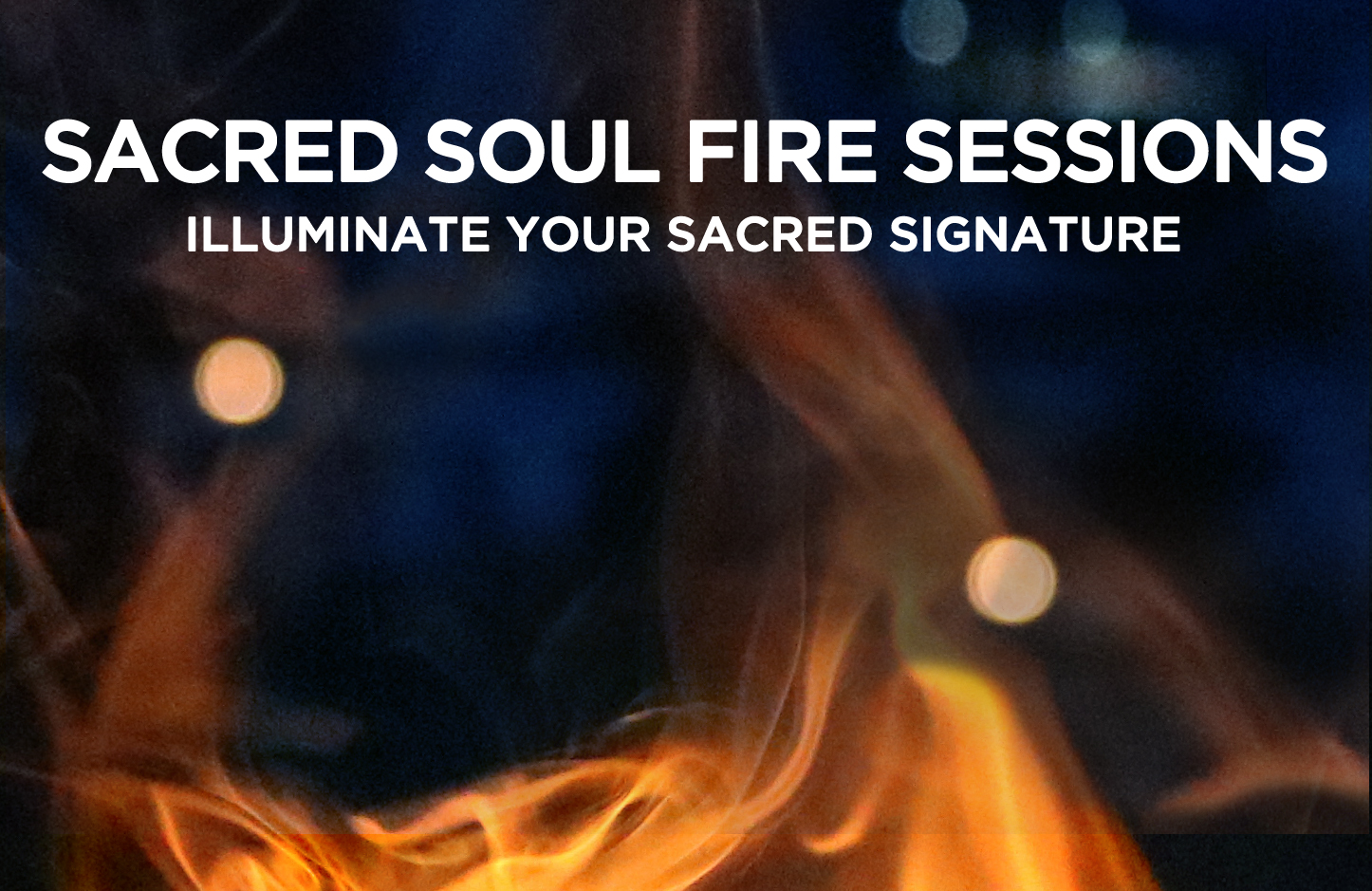 learn more    a single sacred session