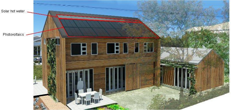 Image: Zero Energy House