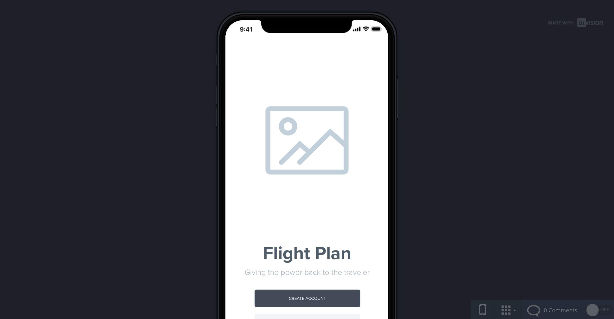 Prototype - Once I nailed down my wireframes and subsequent user flows, I turned to InVision to prepare for usability testing.Click to view live prototype