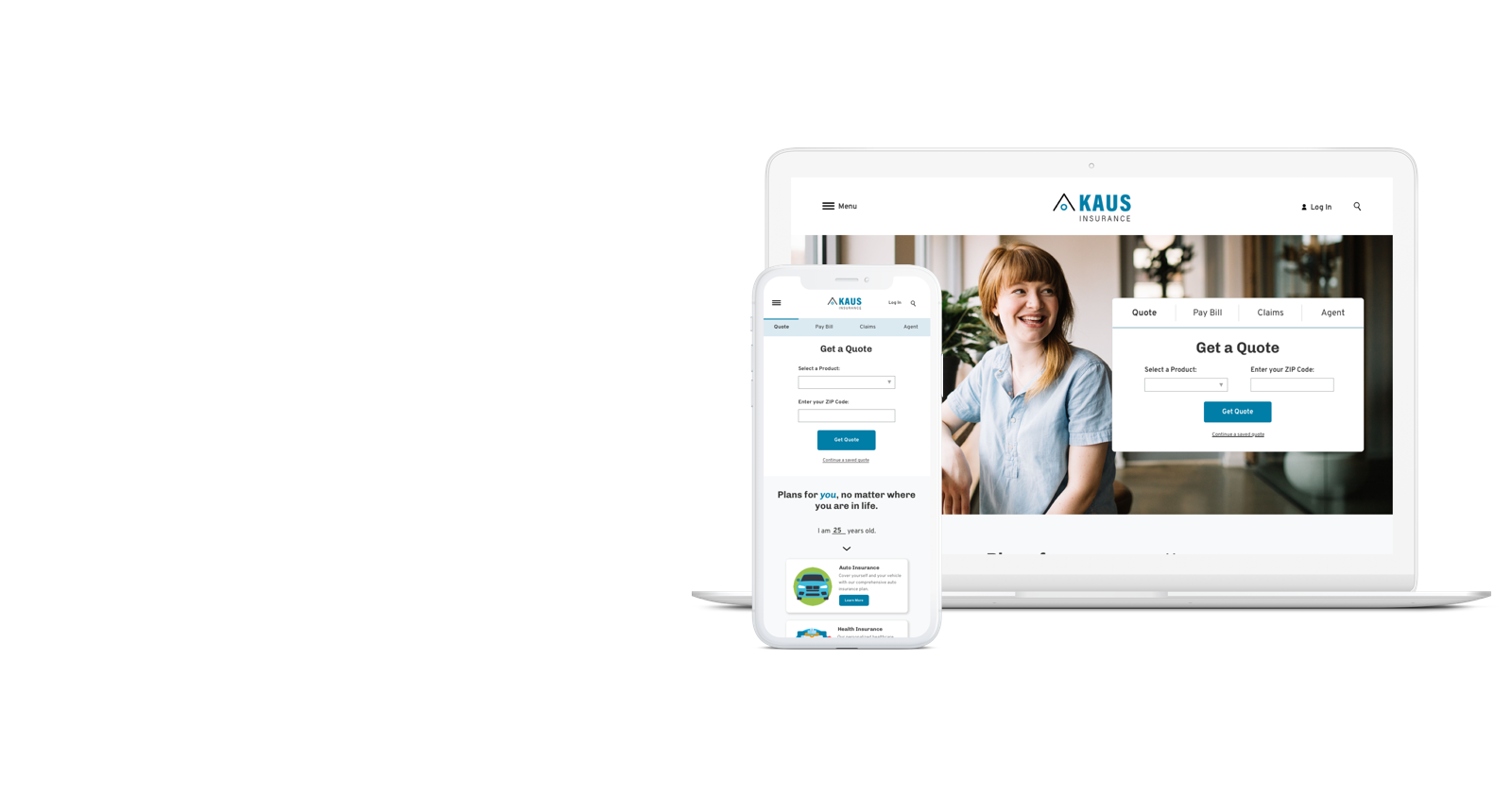 Kaus Insurance - Simplifying insurance on the web