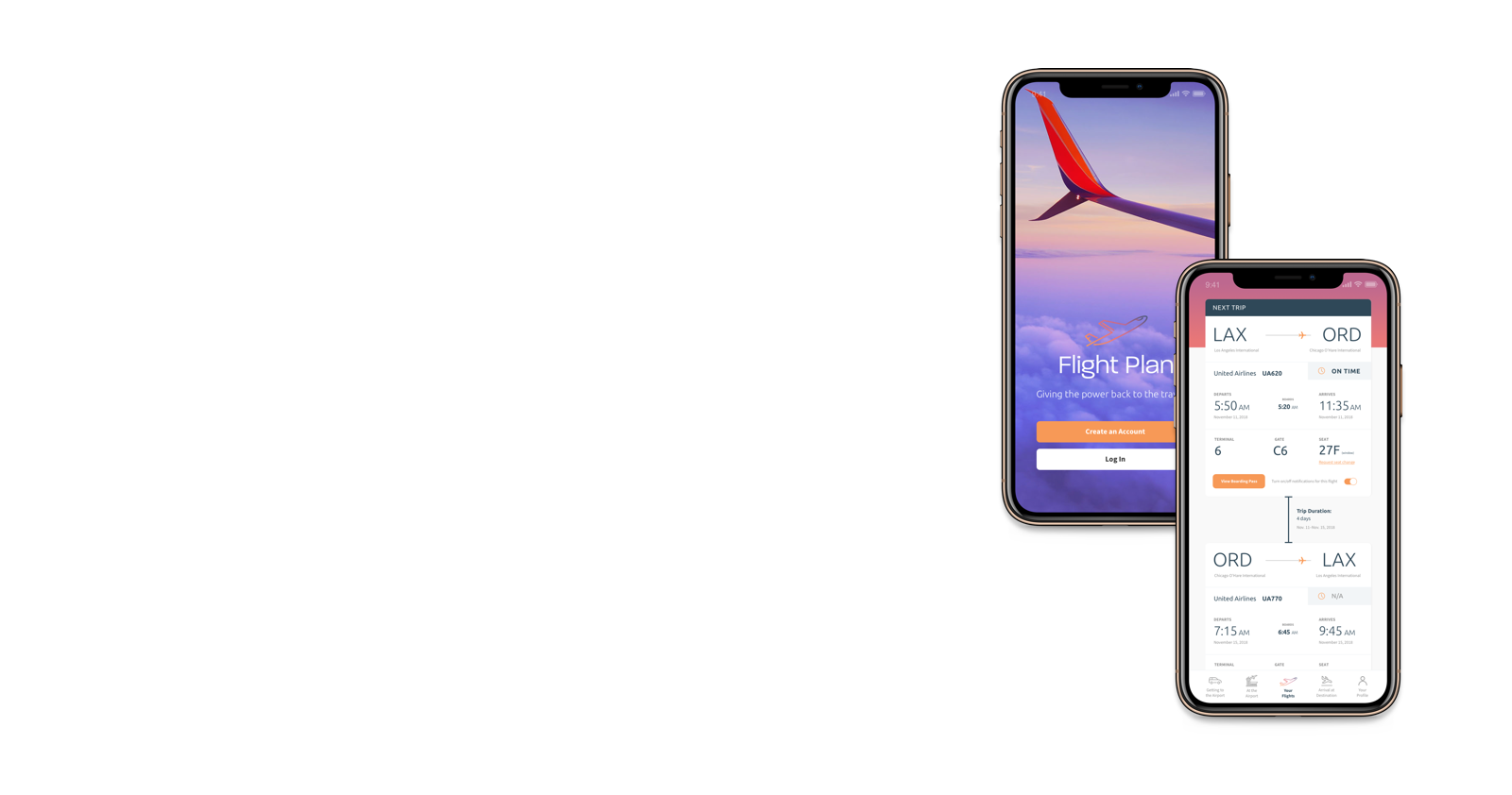 Flight Plan - An app that makes flying carefree