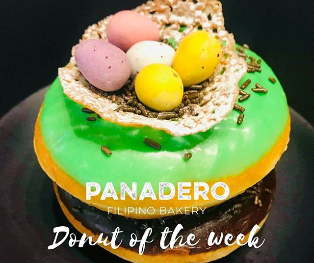 Isn't EGG-citing???😲🤤💚💛 . . Come in quick and don't miss out our #easterdonut 🐰🥚🍩 . . #donutoftheweek #panaderofilipinobakerynz #panaderobakerychch #christchurchbakery #christchurch #newzealand