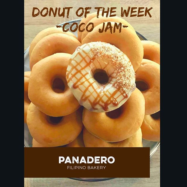 Let's Jam with Coco, this week!!! 💃🏻🕺🏼💃🏻🕺🏼 . . . 📍Shop 7, Peerswick Mall, 388 Riccarton Road, Christchurch . . .#donutoftheweek #panaderobakery #panaderobakerychch #filipino #donut #christchurchbakery #christchurchfoodie #christchurchfood #christchurch #newzealand