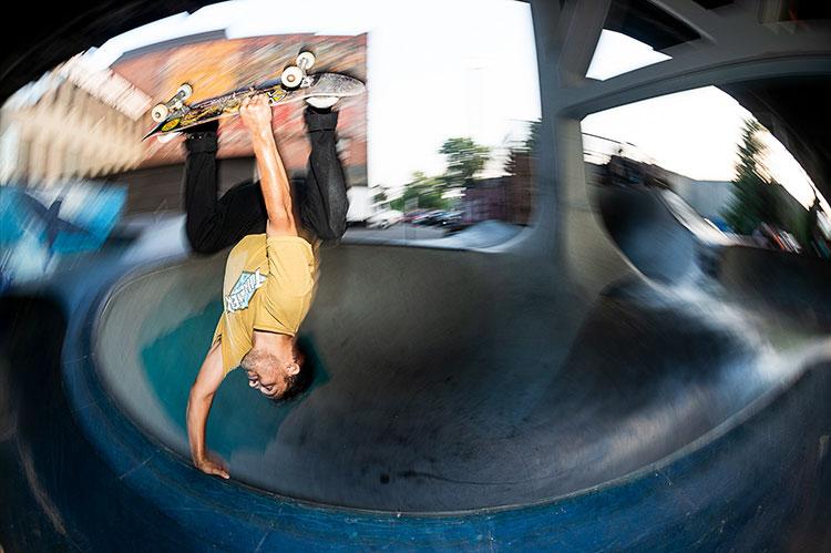 Madness Skateboards - Alex Perelson, Burnside, Thrasher Magazine