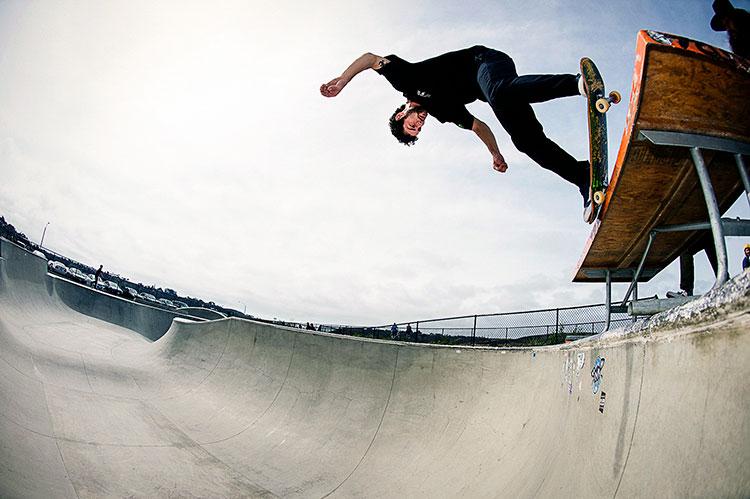 Madness Skateboards - Sam Beckett, Nose Pick, Thrasher Magazine