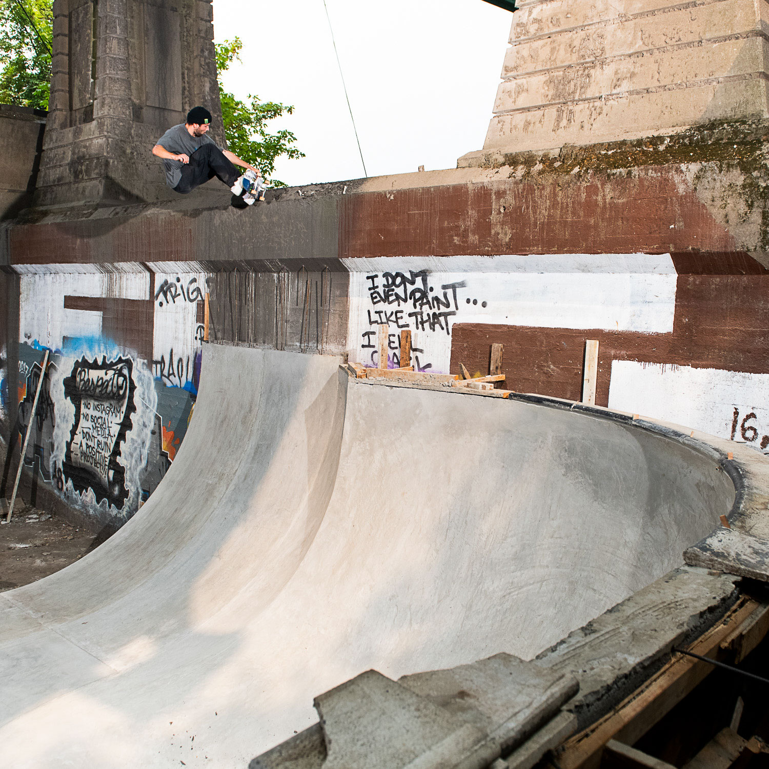 Madness Skateboards - Sam Beckett, Tail Block, Thrasher Magazine