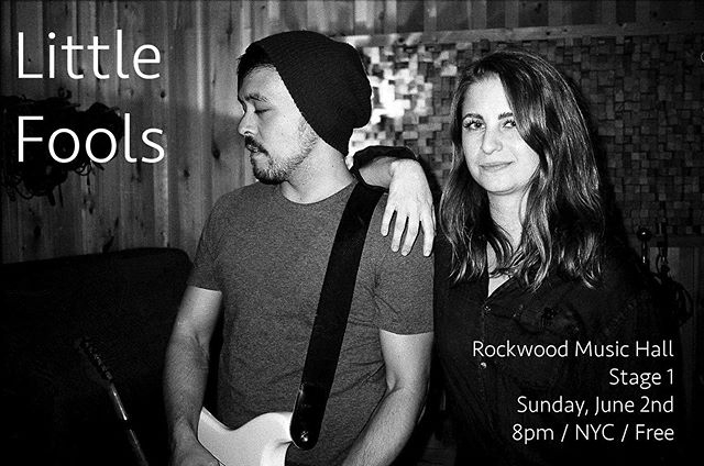 NYC / Rockwood / Stage 1 / 6.2.19 / 8pm / Free
